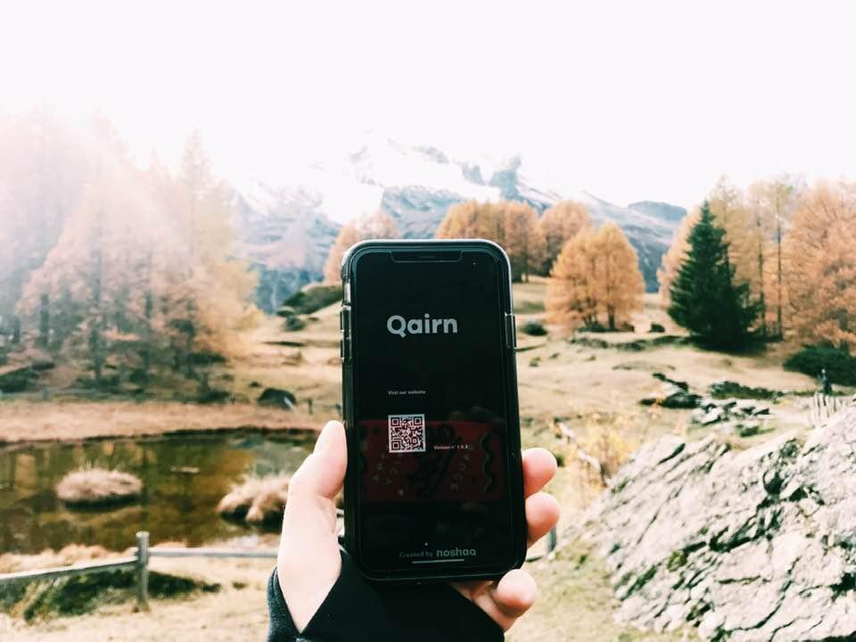 qairn app carte de visite