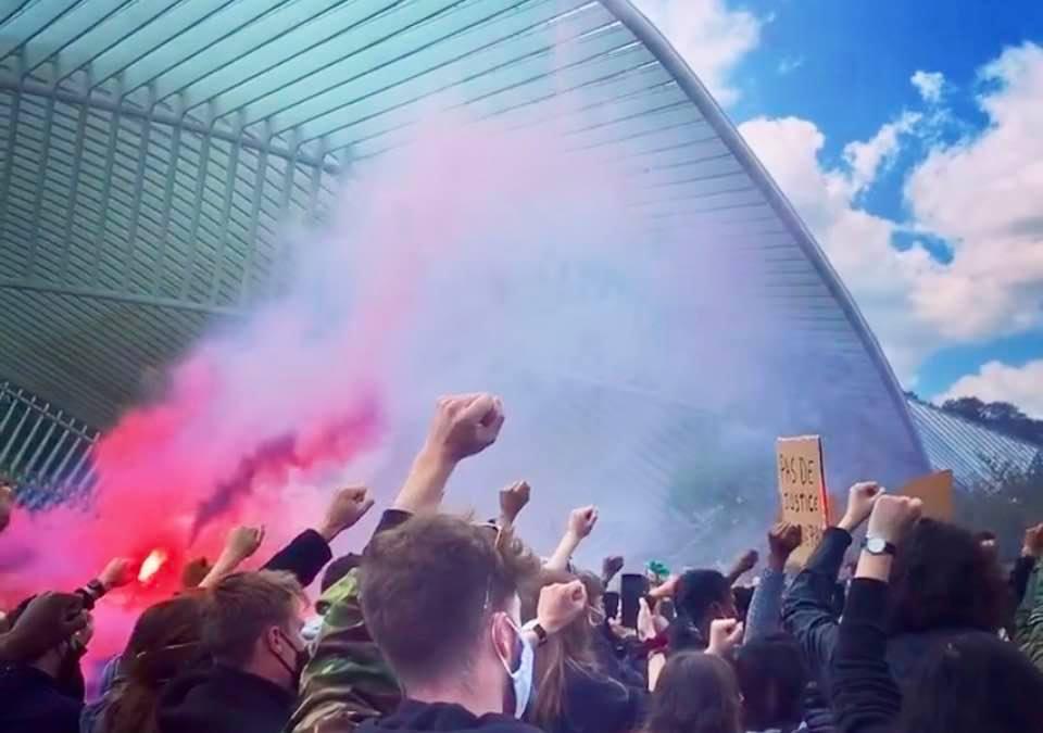 Black Lives Matter Liège - Capture d'écran Alice de Liège