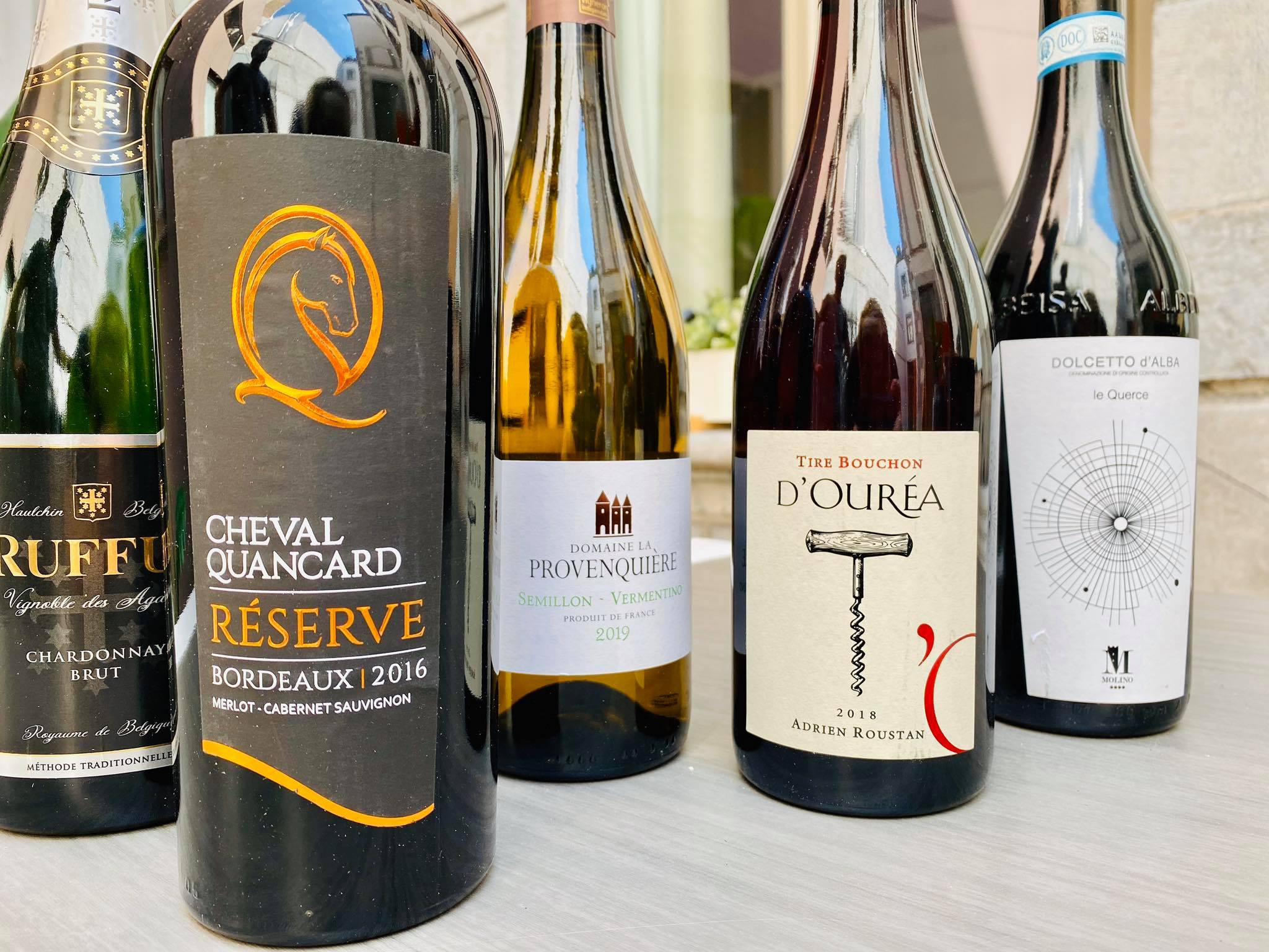 Coffret de vins secrets pourpres