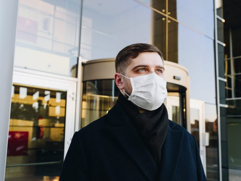 Port du masque - Unsplash