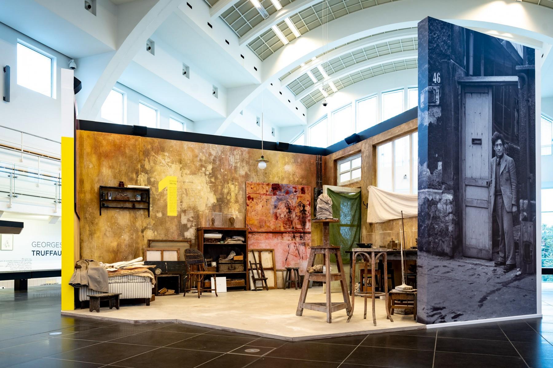 Expo Giacometti Cité Miroir - Pierre Yves Jortay