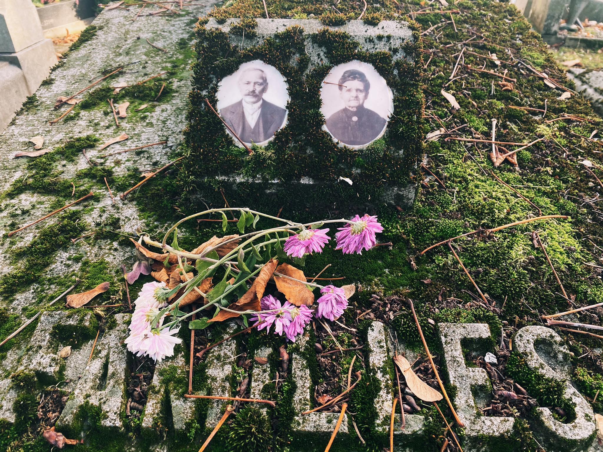 Cimetière de sainte-walburge - Liège - médaillons funéraires - DR Boulettes Magazine