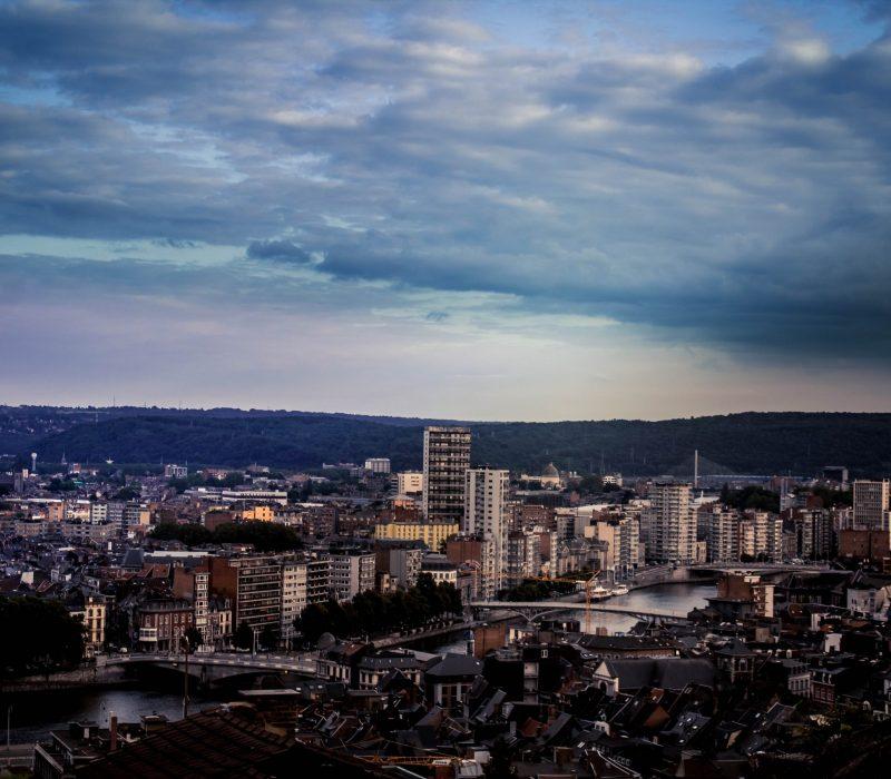 centre-ville de Liège - Unsplash - Albert Dehon