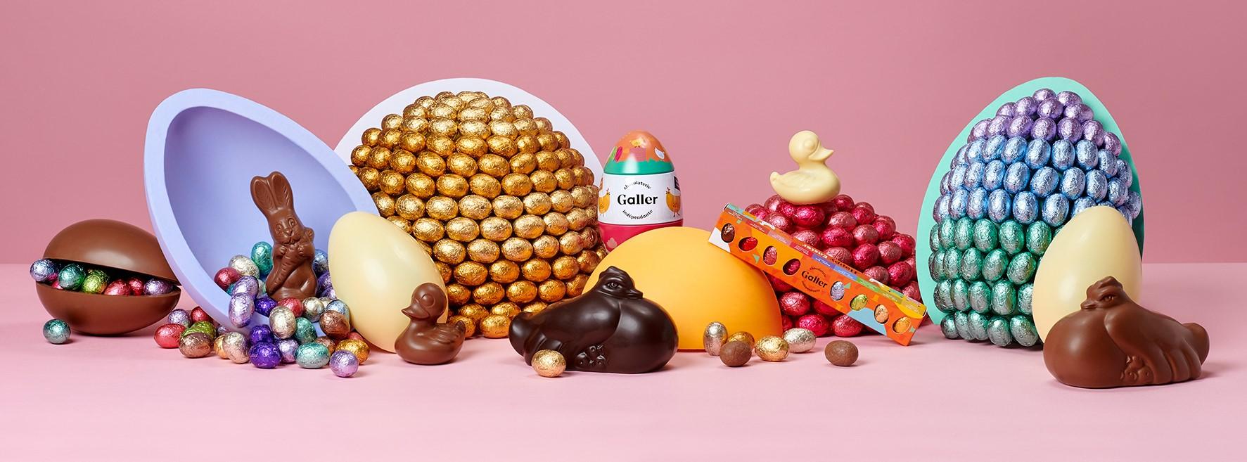 Chocolats de Pâques Galler DR