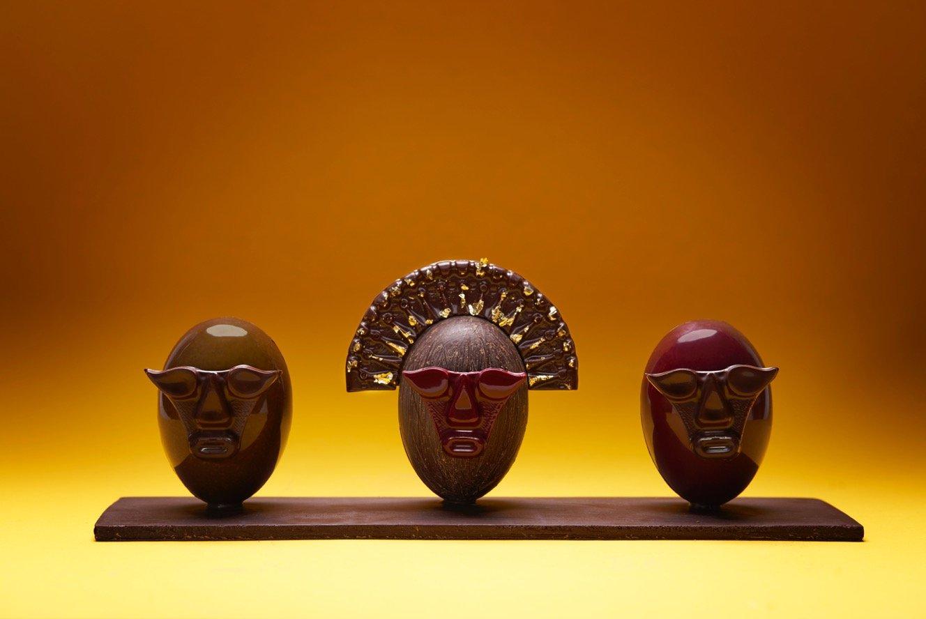 Masques de Pâques Benoît Nihant