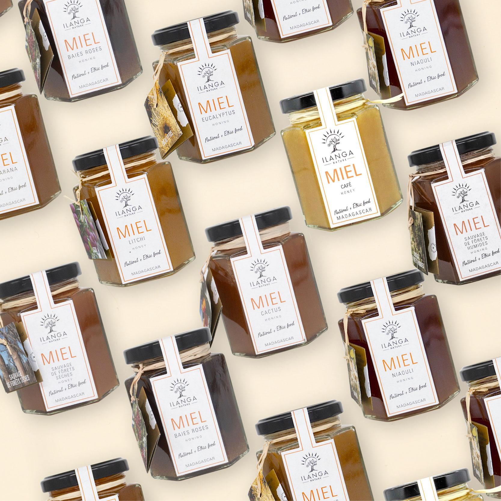 Ilanga Nature épicerie madagascar miel vanille poivre