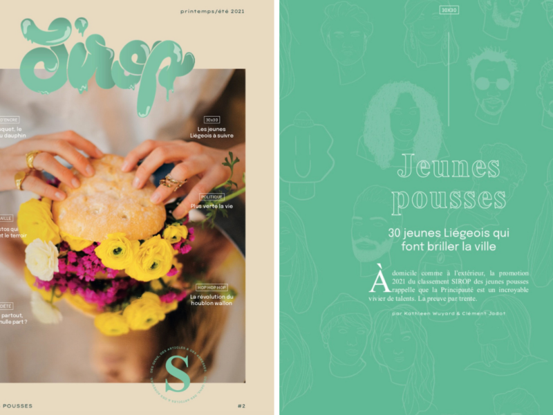 SIROP magazine Liège DR