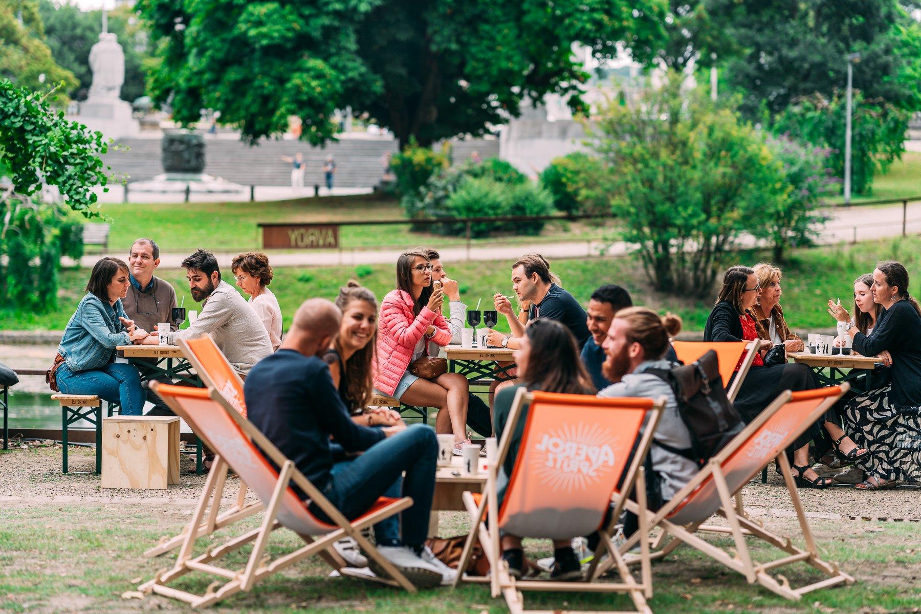 FADA food trucks festival Liège street food parc d'Avroy DR