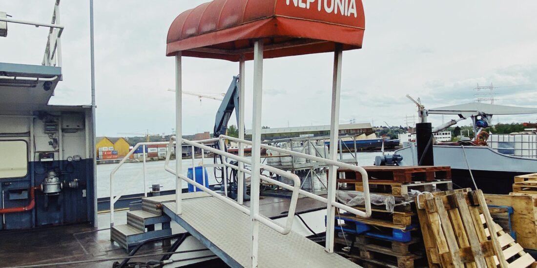 Captain Neptunia Liège Meuse DR Boulettes Magazine bateliers péniche