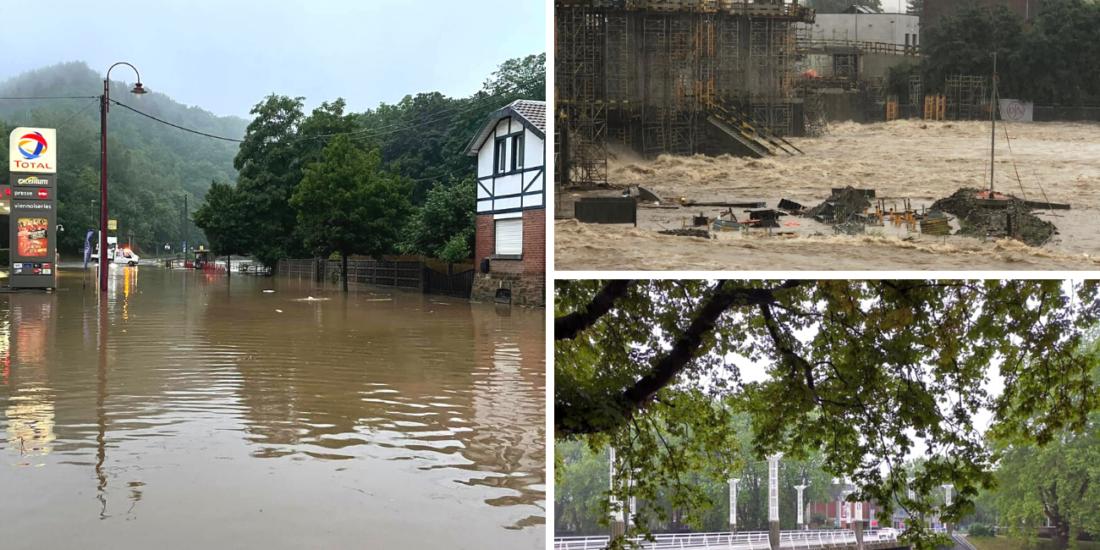 Inondations Liège Ourthe-Amblève DR