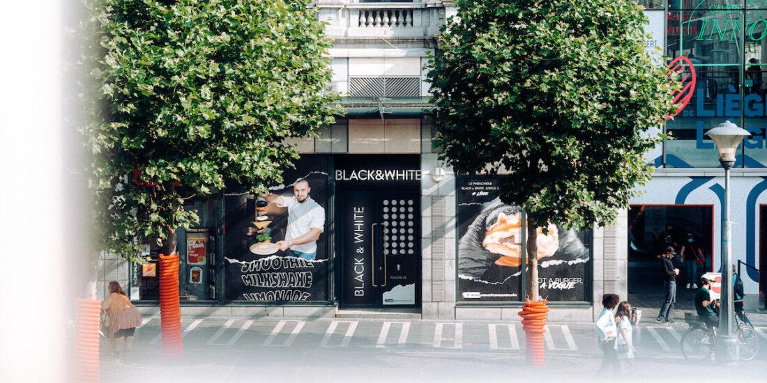 Black and white Burger Liège DR